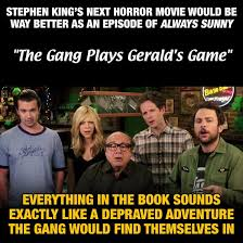 Stephen King Meme - cracked com stephen king should write for it s always facebook