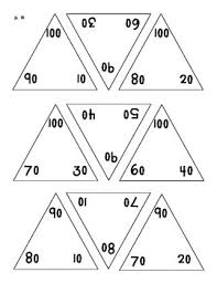 number fact families math triangle flash cards fact families addition and
