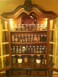 How To Order Kitchen Cabinets by My Herbal Apothecary Cabinet Organized In Jars And All In