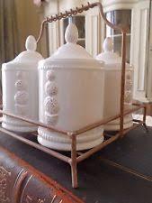 Shabby Chic Spice Rack Ceramics Spice Rack U0026 Jars Sets Ebay