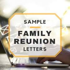 family reunion booklet sle family reunion welcome letter family reunion invitations