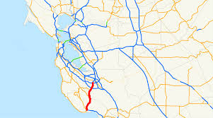 San Jose Traffic Map by California State Route 17 Wikipedia