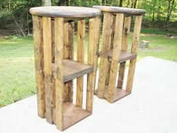 simple reclaimed wood bar stools u2014 optimizing home decor ideas