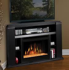 Electric Corner Fireplace Black Electric Corner Fireplace Home Design Ideas
