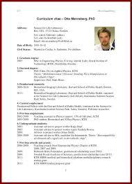 resume format for graduate school curriculum vitae format for graduate school hvac cover letter
