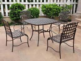 Wooden Outdoor Lounge Furniture Patio 62 Interesting Patio Design With Wrought Iron Lowes
