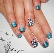 nails polish glitter uv gel nails