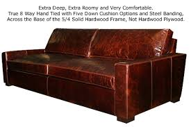 extra deep leather sofa cascobayfurniture com pages