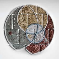 unique figure wall art for unique ceramic wall art and sculpture artful home