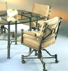 kitchen chairs wheels kitchen table and chairs with wheels for Chromcraft Furniture Kitchen Chair With Wheels