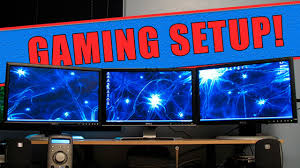 home accessories excellent gaming setup ideas with computer and