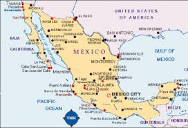 Map Of Cabo Mexico by Mexico City Veracruz By Scotty Lefferts