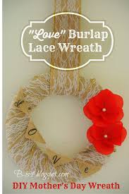 s day wreath b is 4 diy s day burlap lace wreath