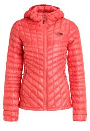 the north face women jackets u0026 gilets winter jacket spiced coral