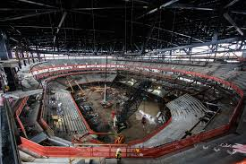 many jobs few skills red wings arena construction fines reflect