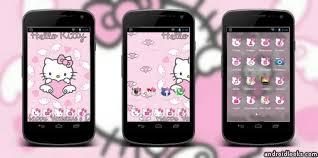 hello go launcher ex theme apk hello pink android theme for go launcher androidlooks