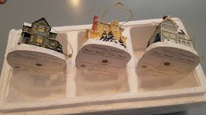 winningcause kinkade winter memories ornament collection