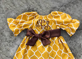 Thanksgiving Dress Baby Thanksgiving Baby Fall Dress Monogrammed
