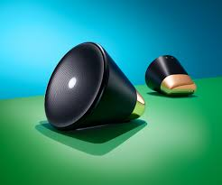 this cone shaped speaker learns your musical preferences wired
