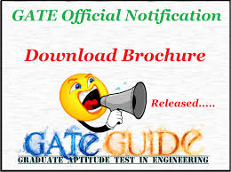 gate 2018 notification out gate brochure 2018 free download pdf