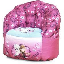 disney frozen bean bag chair pink walmart com