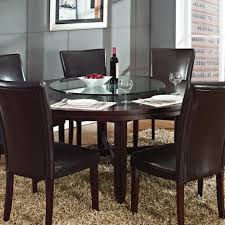 steve silver 72 round dining table steve silver hartford 72 inch round dining table in dark oak tables