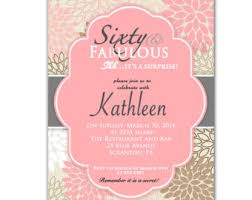awe inspiring surprise 60th birthday party invitations