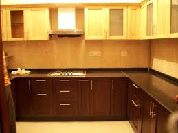 u shaped kitchen layouts dark wood kitchen cabinet black wood