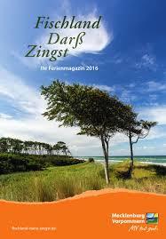 Ferienmagazin 2016 by Tourismusverband Fischland Darß Zingst e V