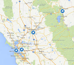 San Francisco International Airport Map by Tahoe Sierra Transportation A Private Car Service In The Truckee