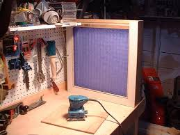 box fan filter woodworking shop works 2 box fan dust filter by woodspar lumberjocks com