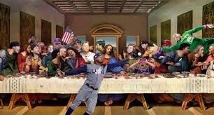Last Supper Meme - this sports meme version of leonardo da vinci s last supper painting
