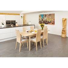 Oiled Light Oak Designer Dining Table And Chairs Dining Tables - Light oak kitchen table