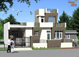 Hd Home Exteriors Designs Free Kerala Style Single Floor House Plan India Simple Home Front