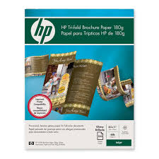 brochure templates hp hp tri fold brochure paper c7020a hewc7020a