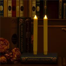 aliexpress buy real wax led taper candle luminara led window