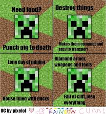 Funny Minecraft Memes - little baby minecraft meme comp