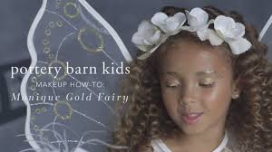 Pottery Barn Unicorn Costume Easy Halloween Makeup Tutorial Gold Fairy Costume For Pottery