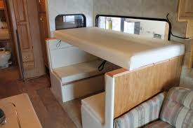 Class A Motorhome With Bunk Beds Orig Class Rv With Bunk Beds Blue Sky Mike S Custom Upholstery