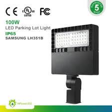 parking lot lighting manufacturers sps1004 sl27s 48xx china unique design 100w dlc led parking lot