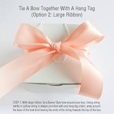 tie ribbon diy tips how to tie a bow weddings ideas from evermine