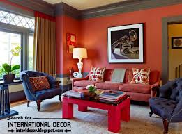 how to use red color in the interior color combinations with red