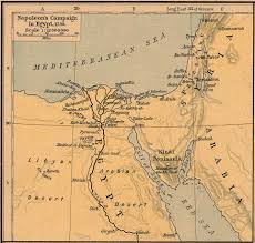 Blank Map Of Ancient Egypt by