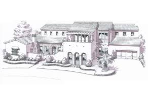 extraordinary spanish colonial revival house plans gallery best