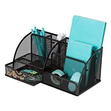 Wire Mesh Desk Organizer Wire Mesh Desk Organizer For And Black