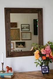Reclaimed Wood Bathroom Mirror 24 X 30 Framed Mirror Handcrafted With Reclaimed Wood Hurd Honey