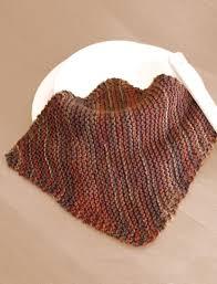 basic knit dishcloth patterns yarnspirations