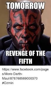 Revenge Memes - tomorrow revenge of the fifth qualckmennecom