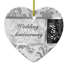 shaped wedding anniversary ceramic decorations