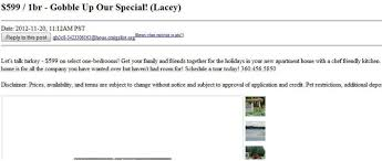 the best in seattle craigslist thanksgiving puns curbed seattle